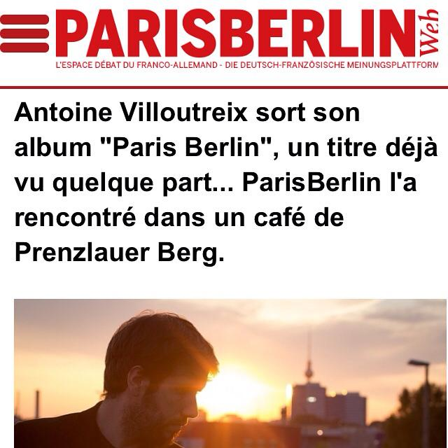 "Interview magazine ""Paris Berlin"""