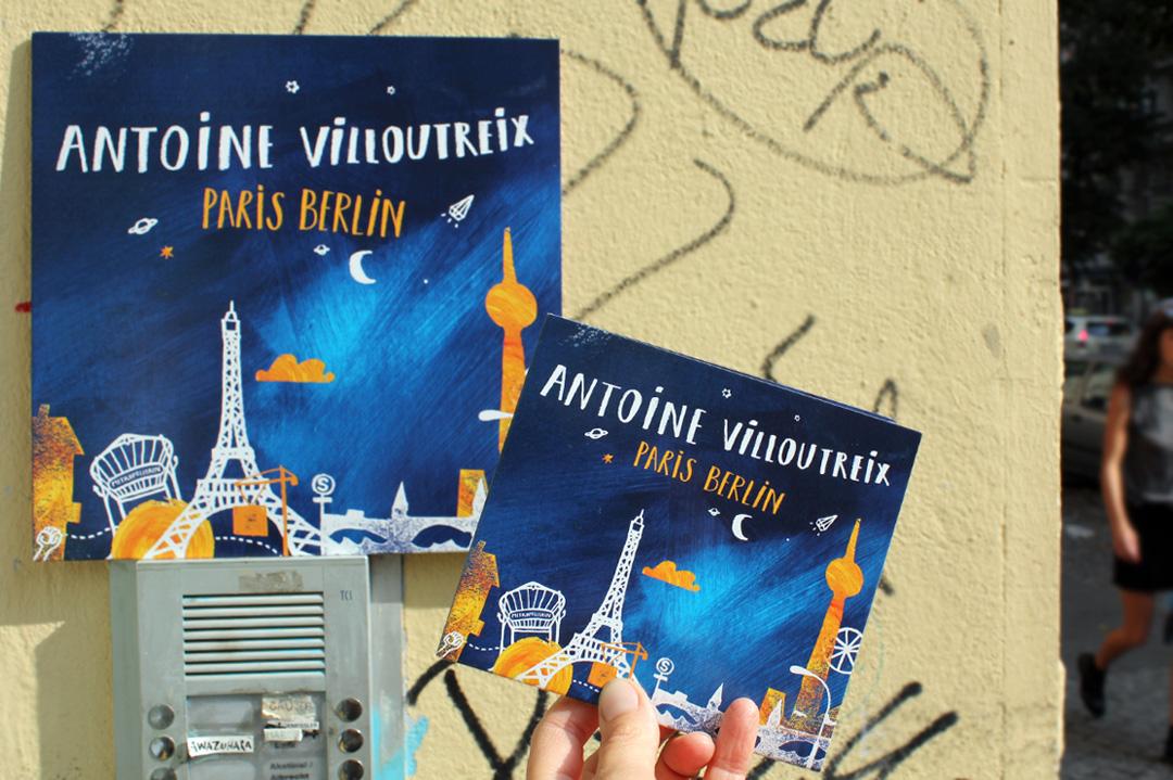 """Paris Berlin"" vinyl Edition! © Ulrike Jensen"