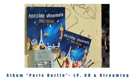 PARIS BERLIN - LP, CD & Streaming
