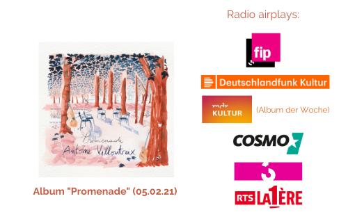 Promenade (05.02.21)- Radio airplays